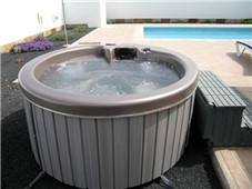 Close up of hot Tub / Jacuzzi